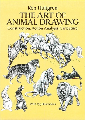 354x500 Kids Book Learn To Draw Animals Art Of Animal Drawing