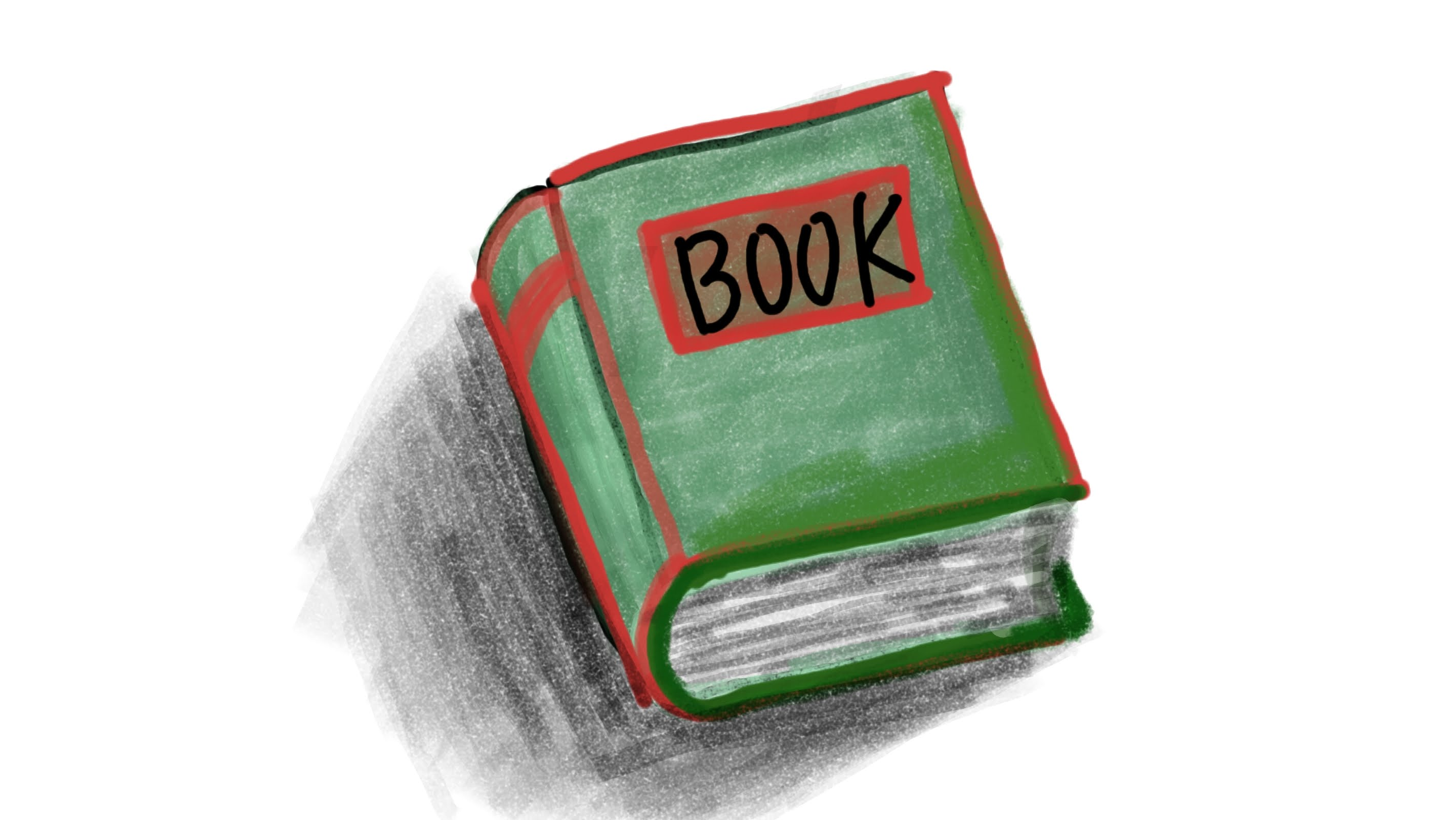 2842x1600 How To Draw A Cartoon Book