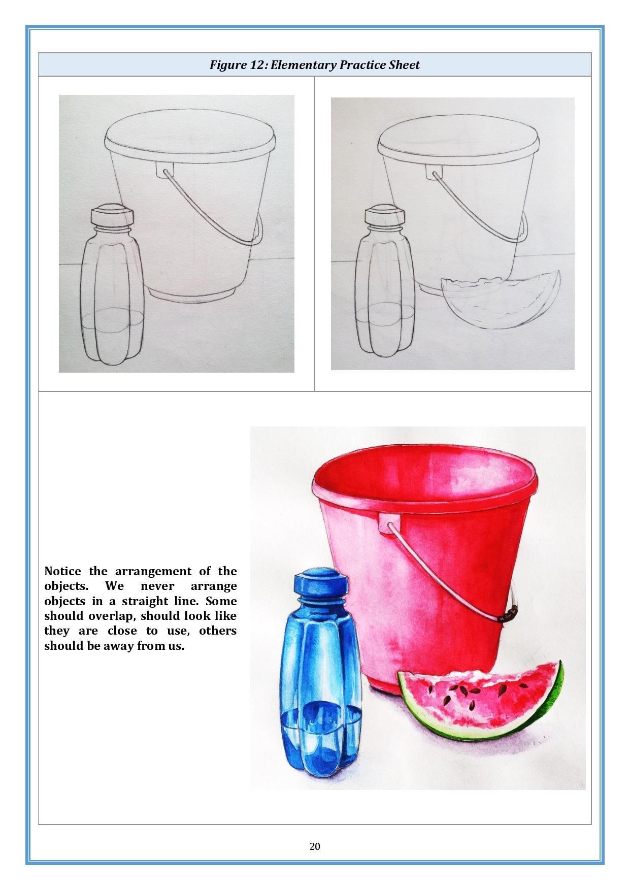 1241x1753 Buy Preeta's Drawing Book For Elementary And Intermediate Grade