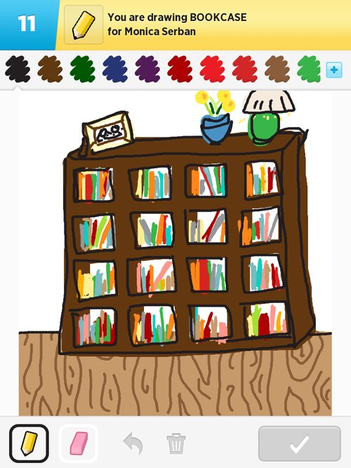 500x667 Bookcase Drawings