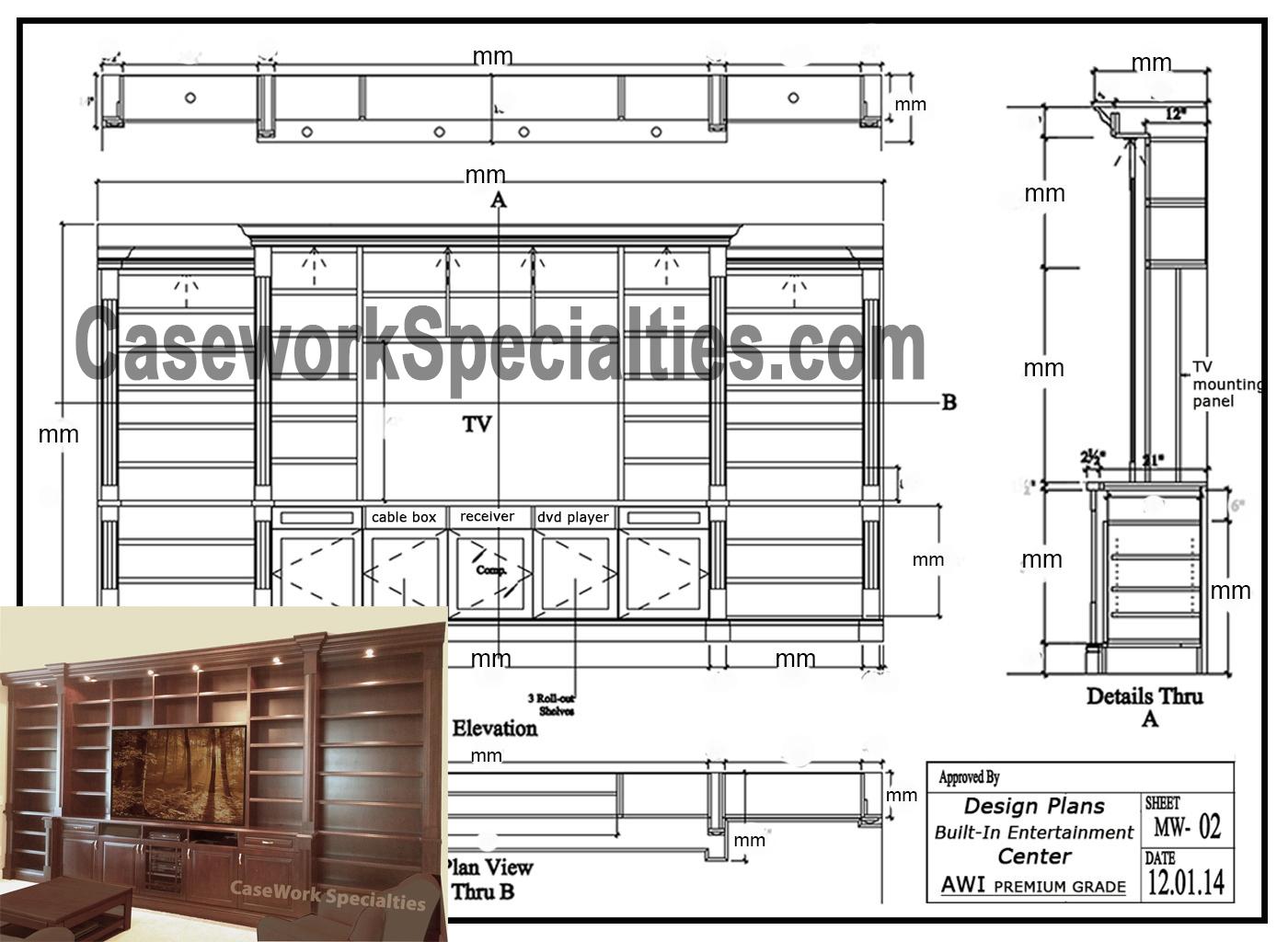 1400x1024 Custom Bookcases Orlando Wood Shelving Wooden Wall Units