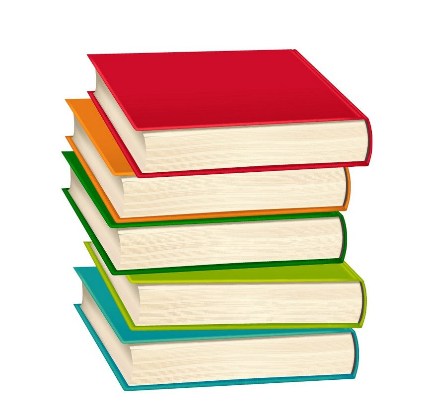 850x846 How To Draw A Stack Of Books And An E Book Reader In Adobe Illustrator