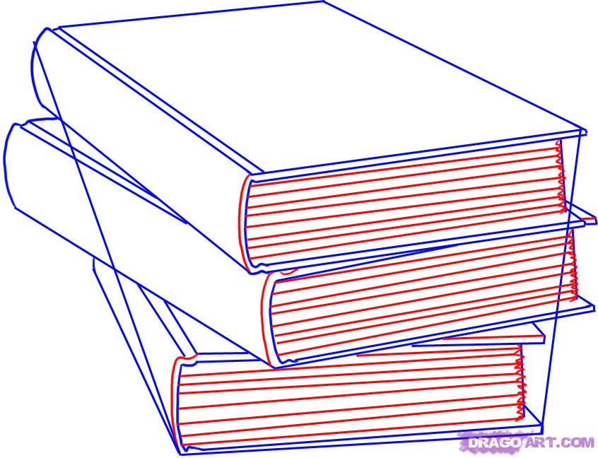 846x648 Step 4. How To Draw Books Children's Inspirational Illustrations