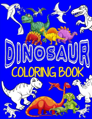 314x406 Dinosaur Coloring Book ~ Jumbo Dino Coloring Book For Children