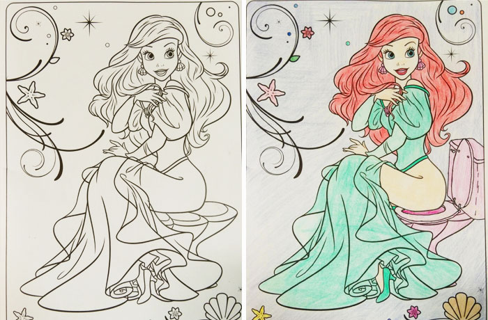 700x460 Times Adults Did Coloring Books For Kids, And The Result Was