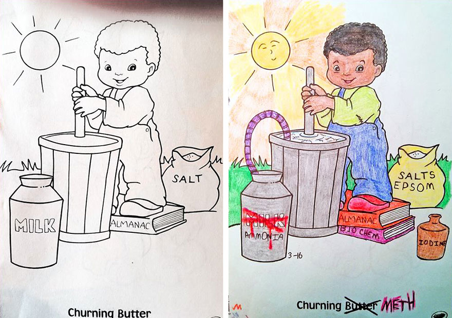 880x620 Coloring Book Corruptions See What Happens When Adults Do