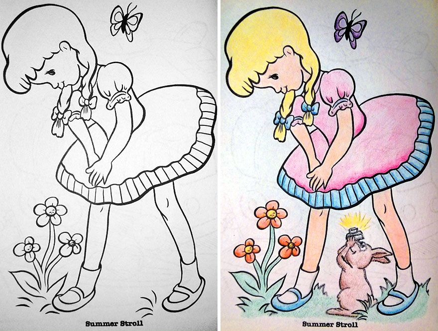 880x665 See What Happens When Adults Do Coloring Books (Part 2) Bored Panda