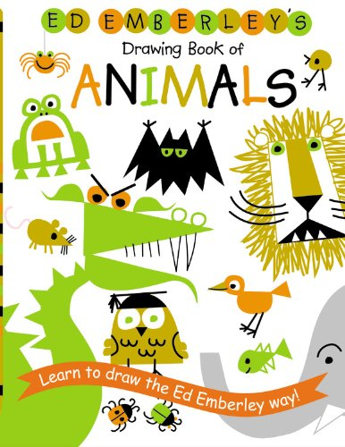 386x500 Ed Emberley's Drawing Book Of Animals By Ed Emberley,httpwww
