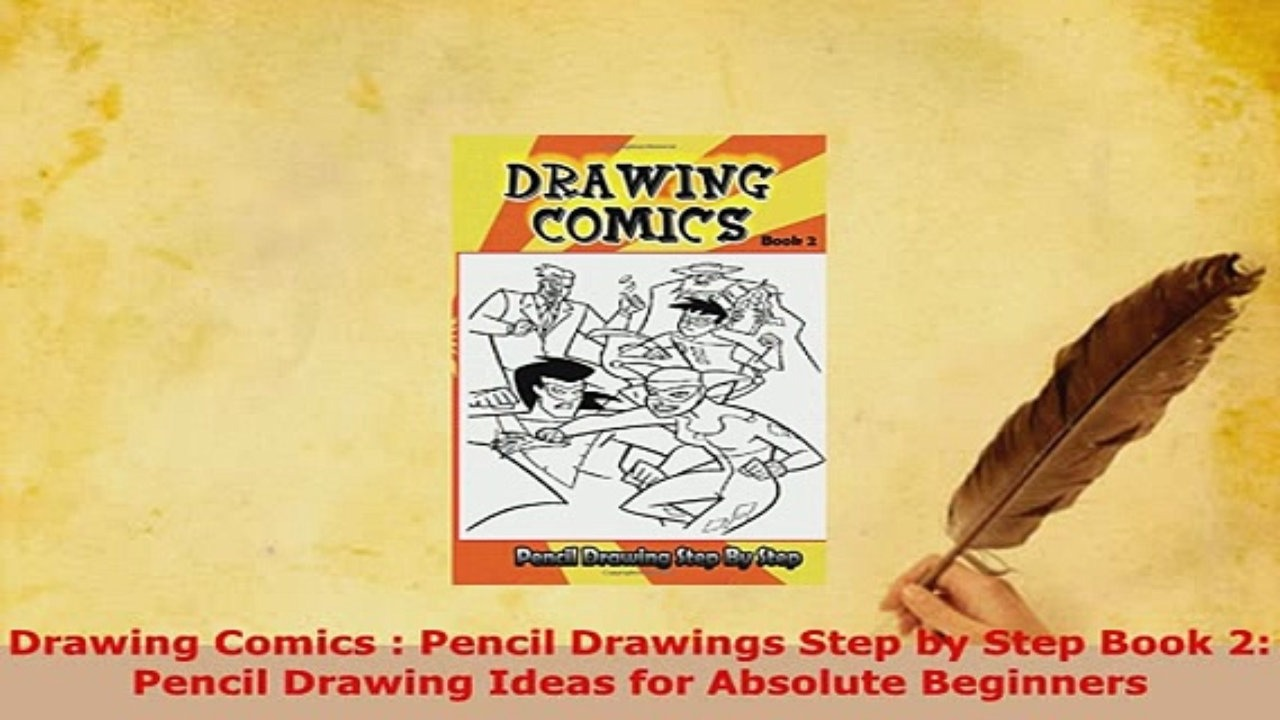 1280x720 Download Drawing Comics Pencil Drawings Step By Step Book 2 Pencil