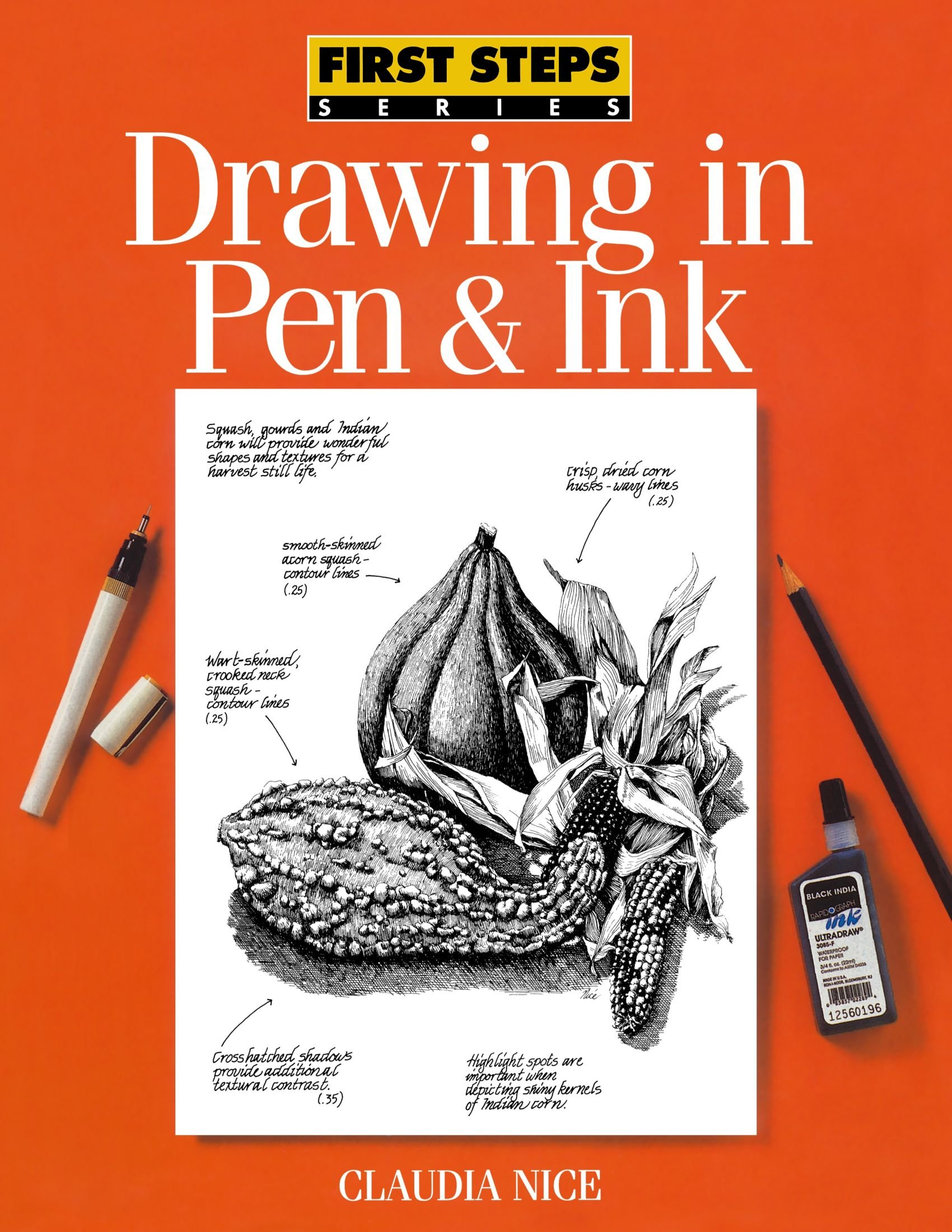 1700x2200 Photos Pen And Ink Drawing Book,