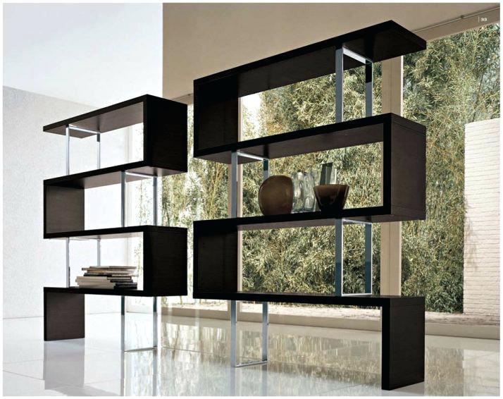 714x566 Contemporary Book Shelves Medium Image For Room Shelf Designs