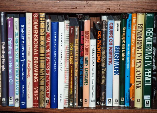 600x432 Gurney Journey Your Art Bookshelves