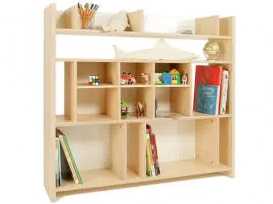 537x402 Kids Bookshelf Nonjetable Bookcase Recto Verso Features Wipe Board