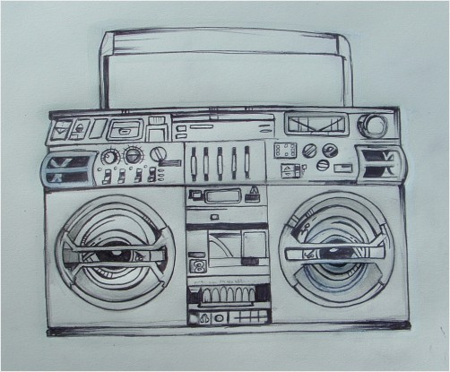502x415 Boombox Tattoo Designs Boombox Tattoo Design Body Art