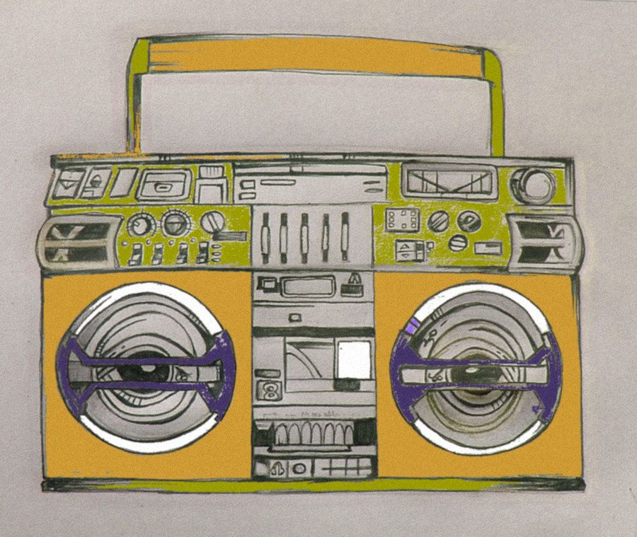 900x759 Boombox Tattoo Designs Boombox Tattoo Design In Color By