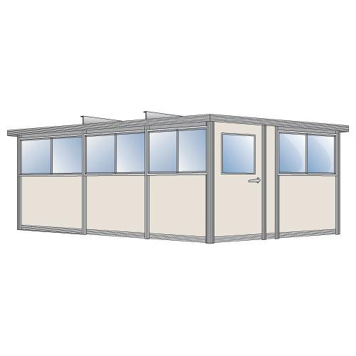 500x500 Portafab 8 X 12 Large Pre Assembled Building