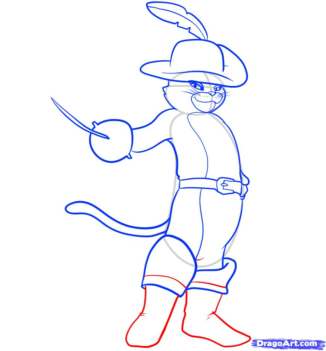 How to draw boots 78