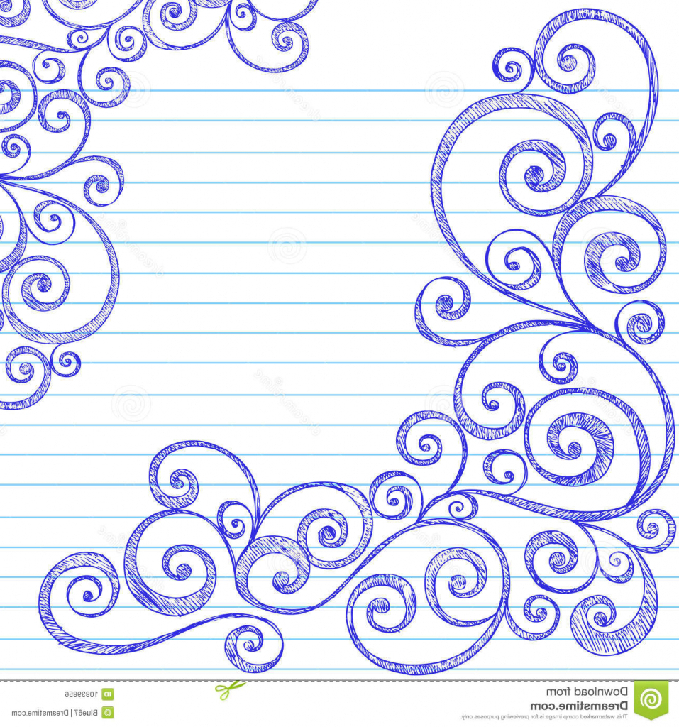 957x1024 How To Draw Simple Border Designs Easy Cute Drawing Free
