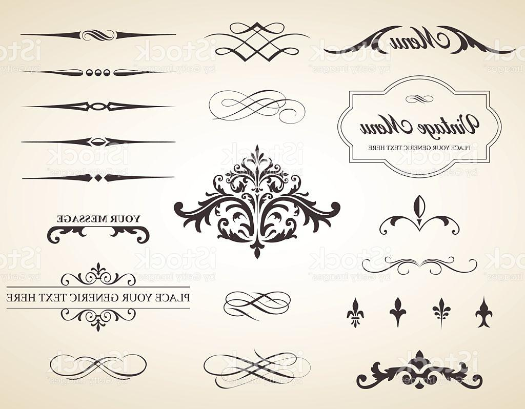 1024x798 Best Hd Vintage Vector Label Page Dividers And Borders Drawing