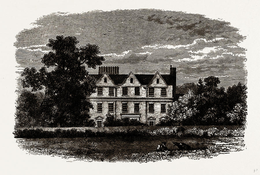 900x605 Boston House, From An Old Print Of 1799 Drawing By Litz Collection