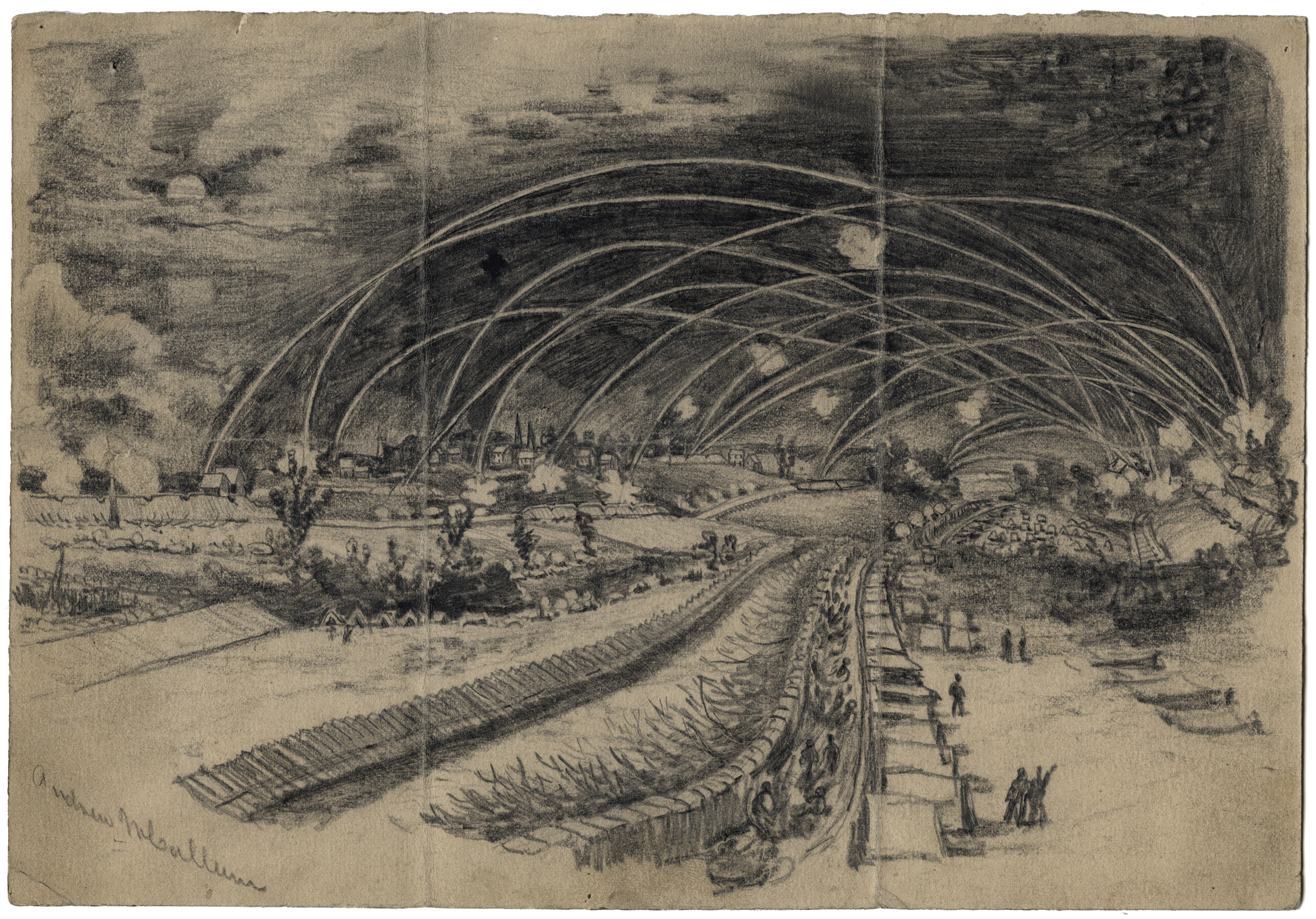 2926x2043 Civil War Era Drawings From The Becker Collection' Opens Sept. 10