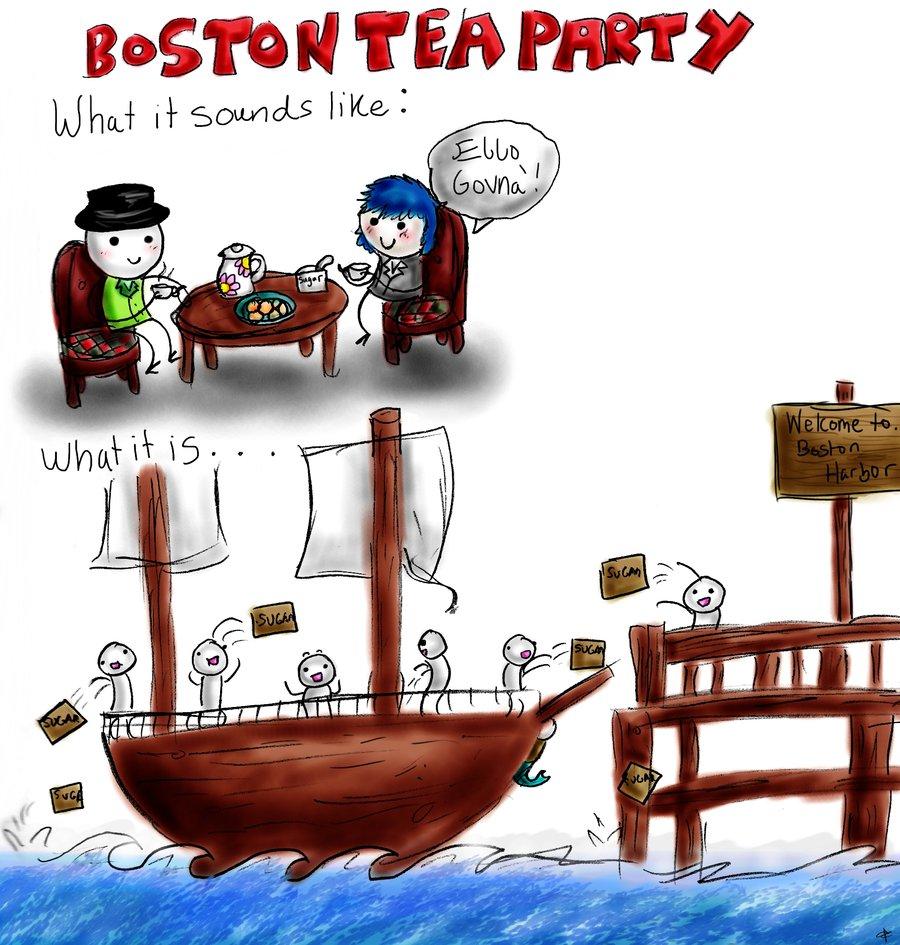 Berühmt Boston Tea Party Malvorlagen Ideen - Malvorlagen Von Tieren ...
