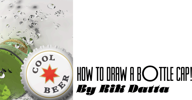 621x323 How To Draw A Photorealistic Bottle Cap Tips And Tricks