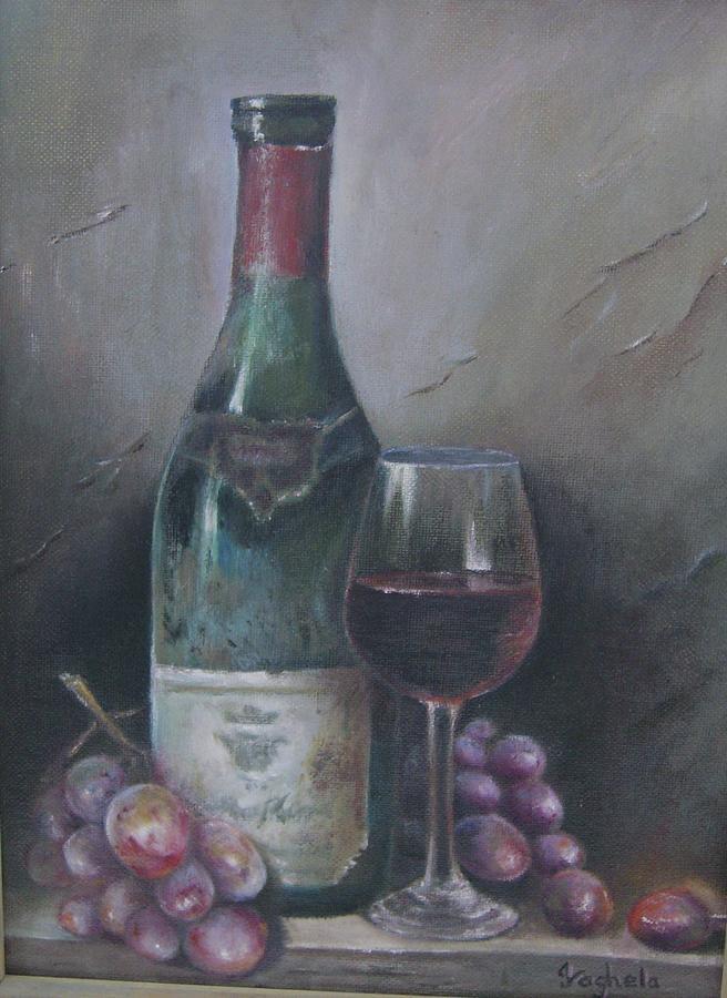 656x900 Object Drawing Wine Bottle
