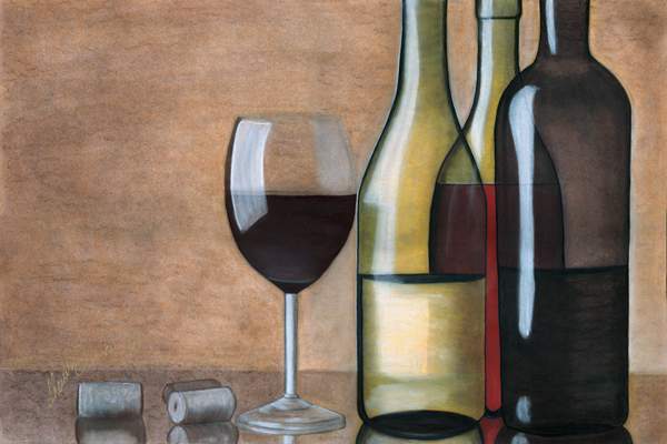 600x400 Wine Bottles Wine Bottles, Liquid Lead Art Studio, Artist Corner