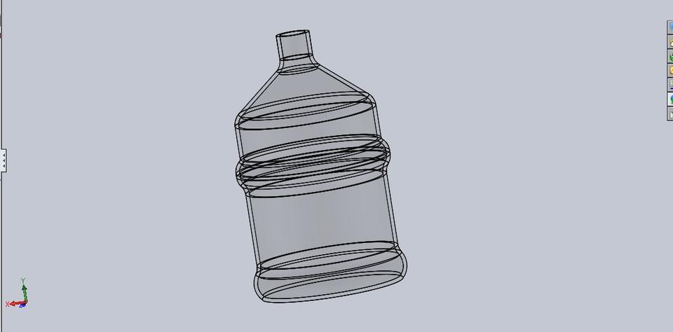 960x474 20 Liters Water Bottle Model 3d Cad Model Library Grabcad