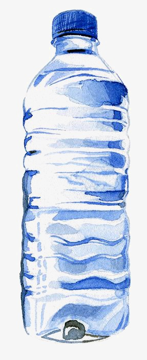 287x700 Mineral Water, Drawing Mineral Water, Pure Water, Bottled Mineral