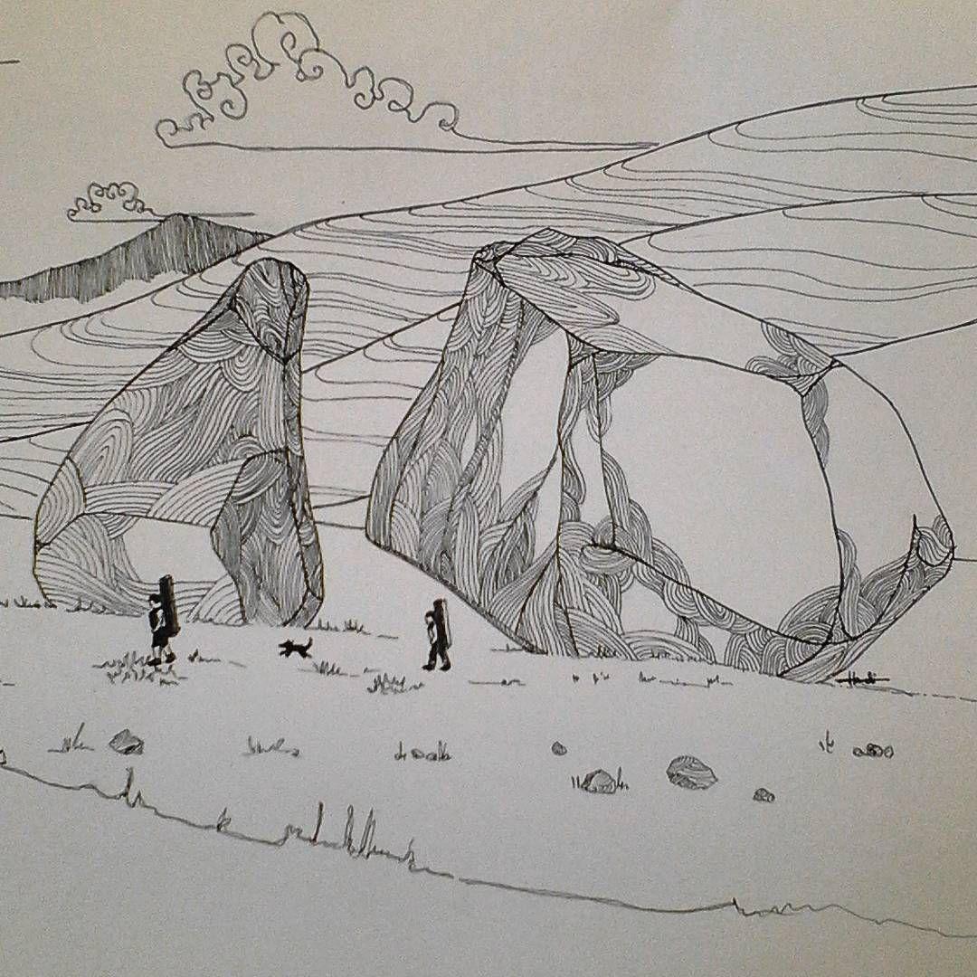 1080x1080 Bishop Boulders~ Doodling Request By @idratherbebouldering Hope U