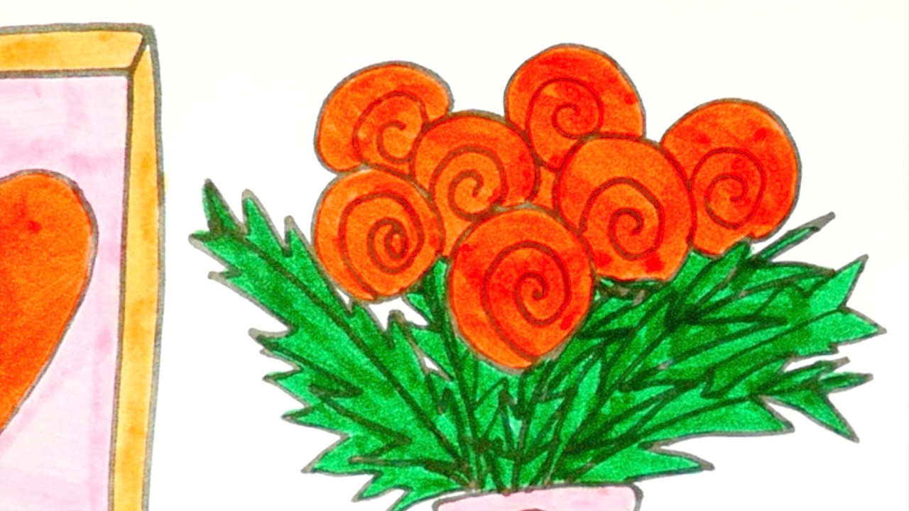 Bouquet flowers drawing at getdrawings free for personal use 1280x720 drawing a bouquet of flowers for kids easy step by step demo izmirmasajfo