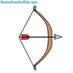 150x150 How To Draw A Bow And Arrow For Kids Howtodrawforkids
