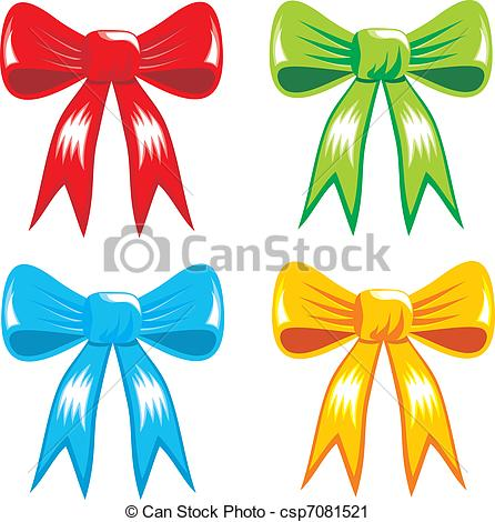446x470 Celebrating Color Gift, Ribbon, Bow. Celebrating Color Bows