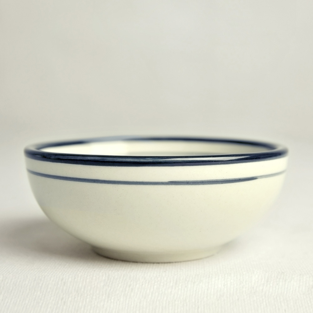 1000x1000 Brief Japanese Style Ceramic 4.25 Rice Bowl Hand Drawing Distant