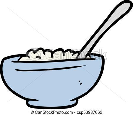 450x390 Cartoon Bowl Of Rice Clip Art Vector