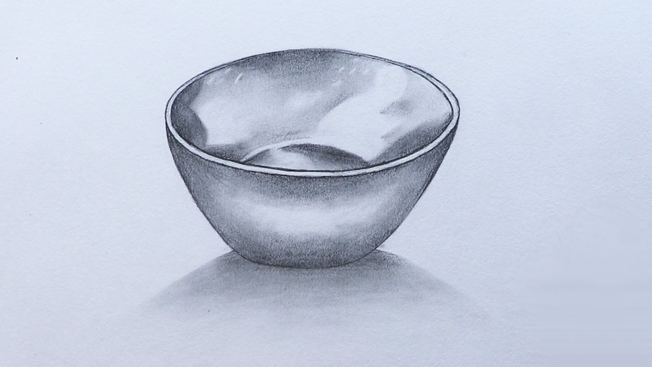 1280x720 How To Sketch A Bowl