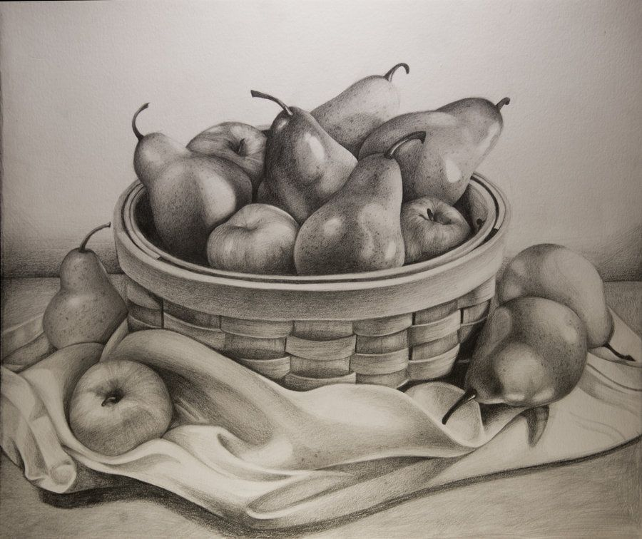 900x756 Fruit Bowl By Starbeams On Art