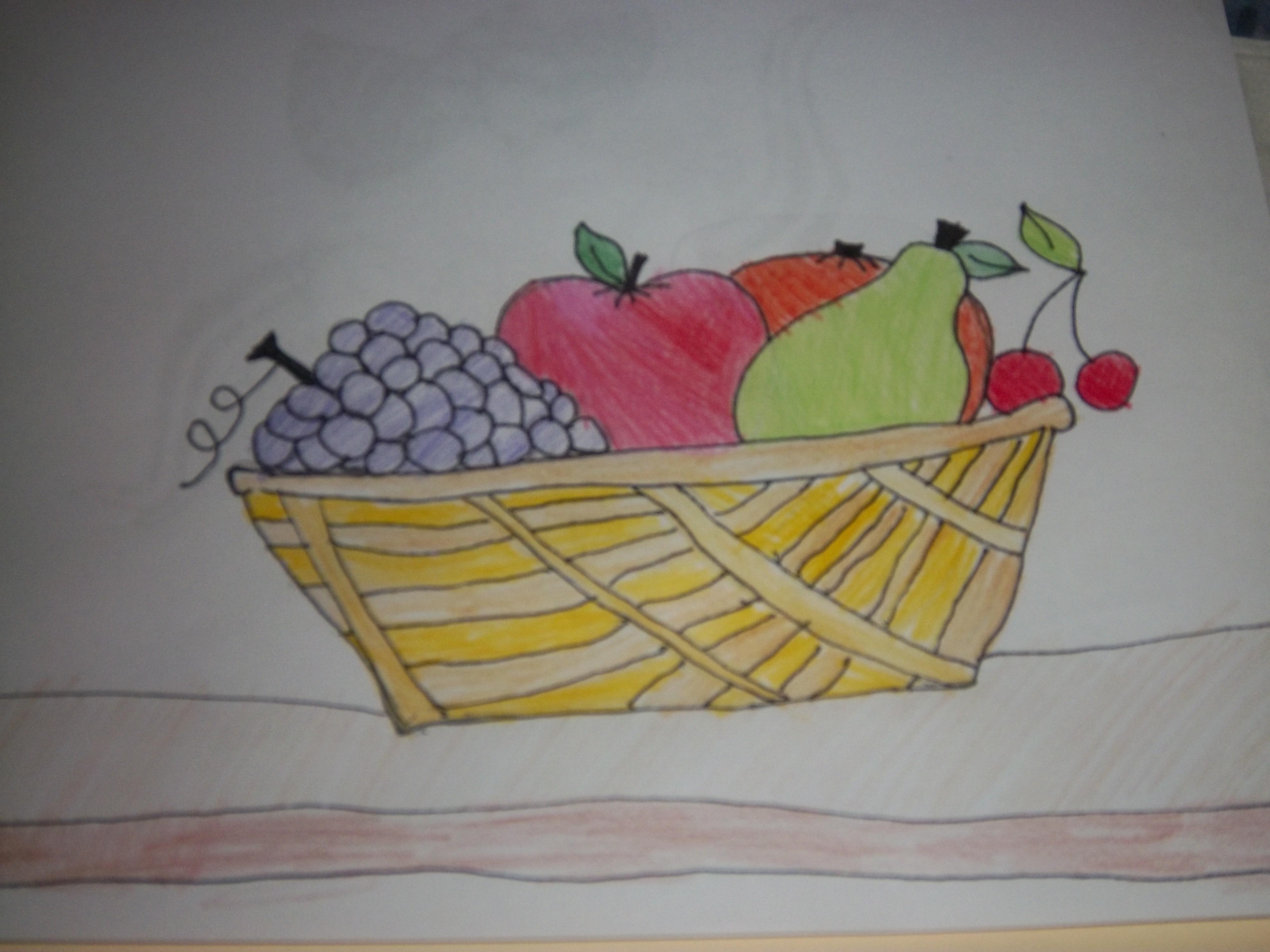 4000x3000 Bowl Of Fruit Drawing Bowl Of Fruit Drawing A Random Bowl Of Fruit
