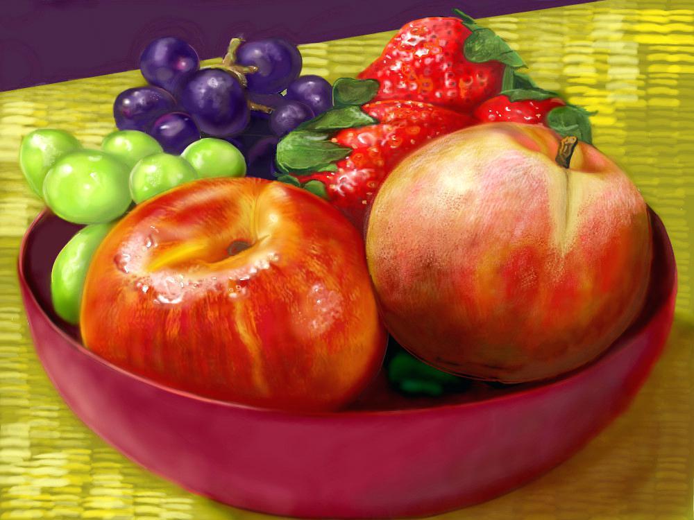 1000x750 Bowl Of Fruit