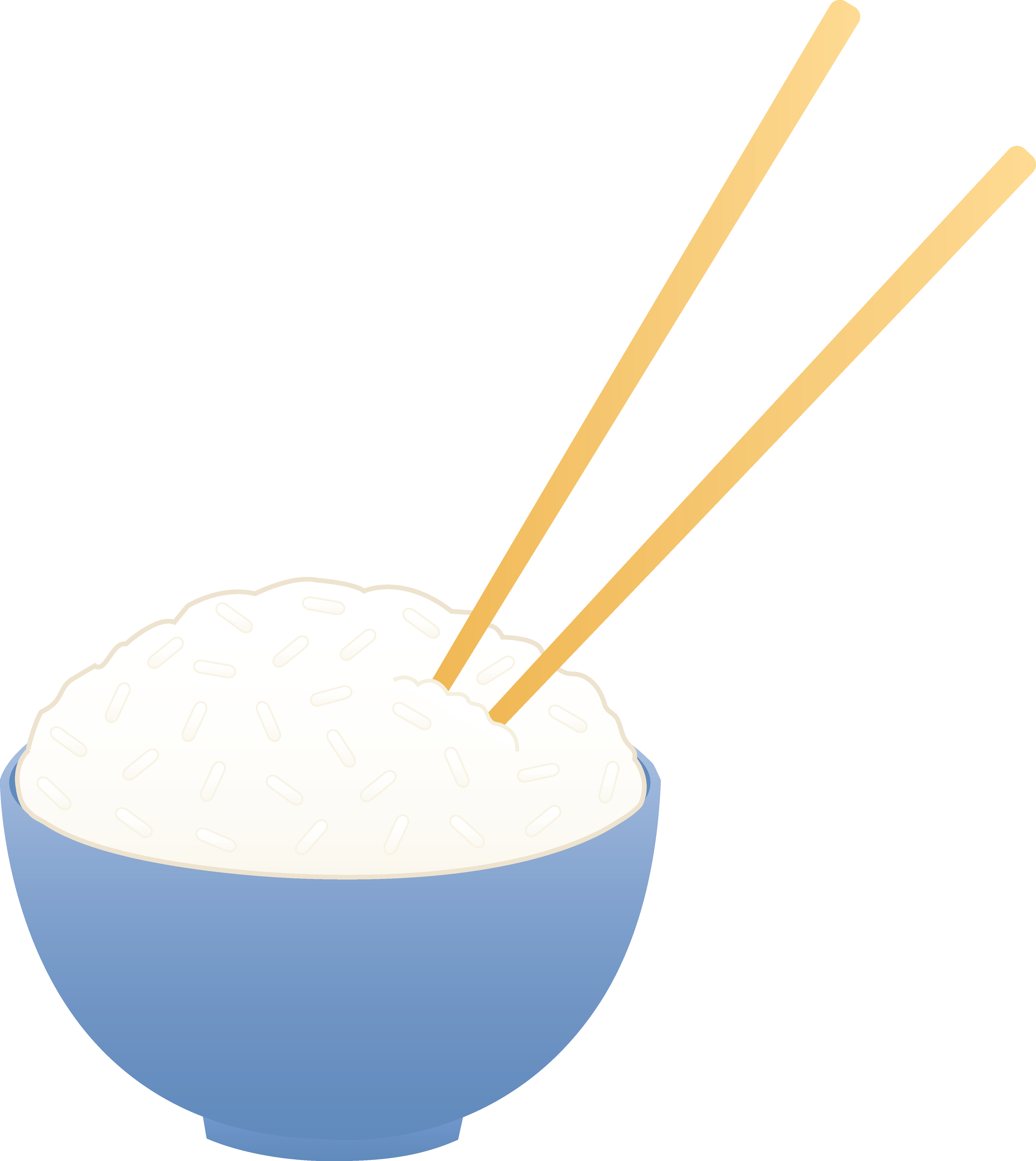 4644x5202 Bowl Of White Rice With Chopsticks