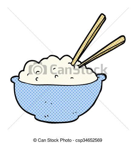 449x470 Freehand Drawn Cartoon Bowl Of Rice Clip Art Vector