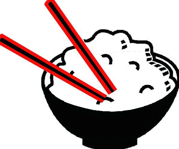 595x493 Rice, Drink, Ball, Food, Chopsticks, Bowl, Asian, Food, Drawing