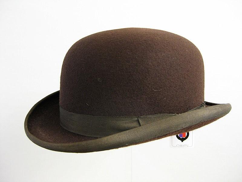 800x600 Christy's Brown Bowler Hat (Ha128) Men's Hats