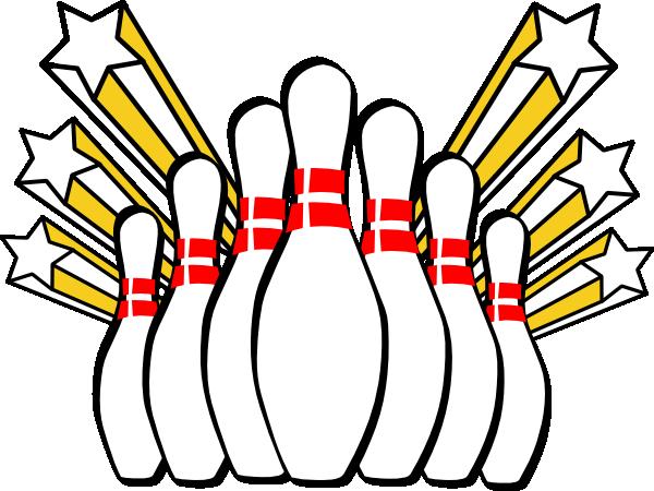 600x450 Bowling Pins Clip Art