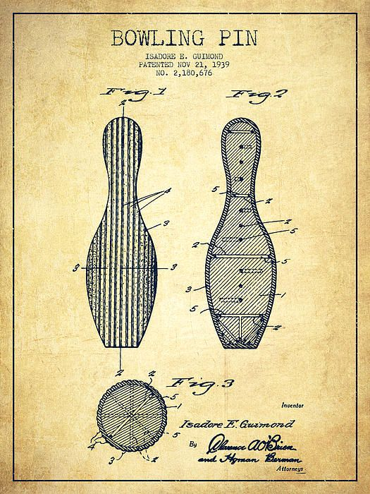 525x700 Draw, Vintage And Bowling Pins