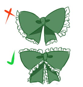273x286 How To Draw Bows The Anime Palette
