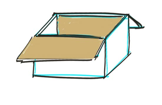 550x355 How To Draw A Box