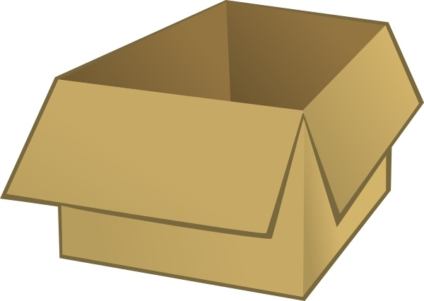 600x426 Open Box Clip Art Free Vector In Open Office Drawing Svg ( Svg